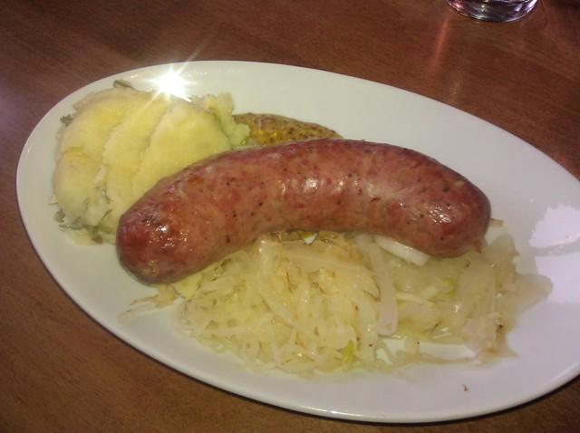 Deschutes Brewery Boar Sausage