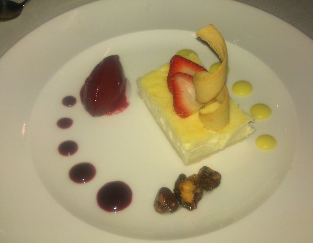 Cheesecake - Elevation Restaurant