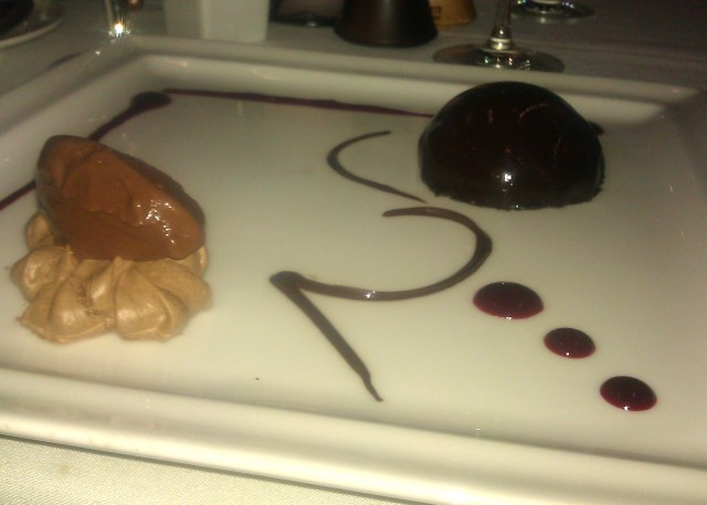 Chocolate Trio - Elevation Restaurant