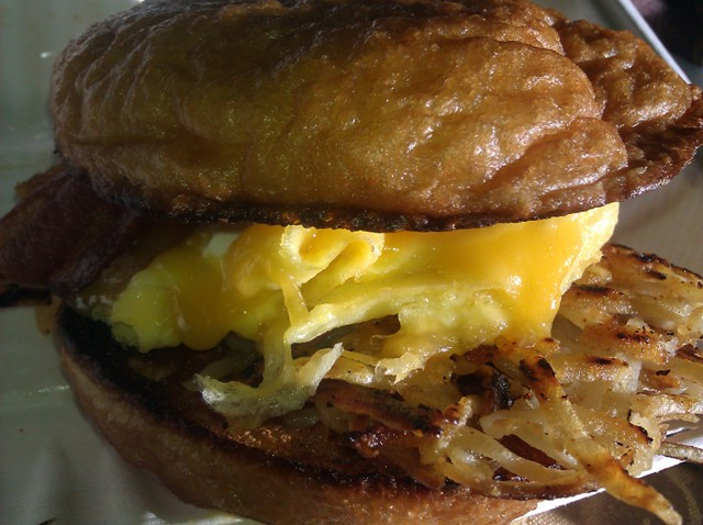 Crazy Delicious Breakfast Sandwich